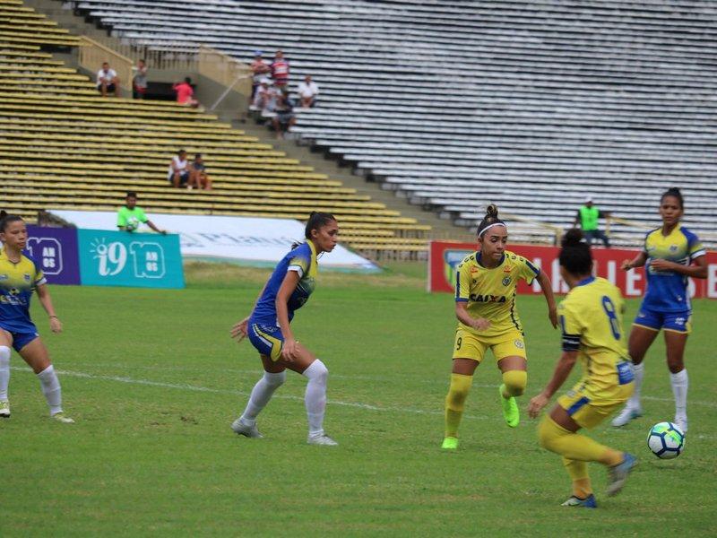 Tiradentes e Esmac empatam pelo Brasileiro Feminino A-2