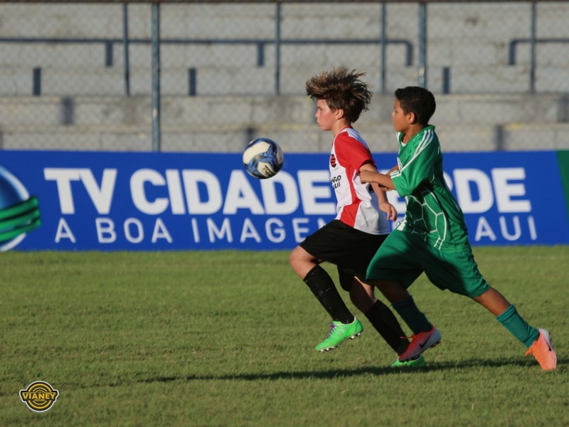 Definidos os confrontos das quartas de final do Piauiense Sub-13