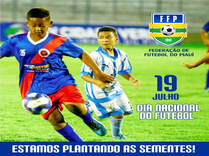 19 de julho - Dia Nacional do Futebol