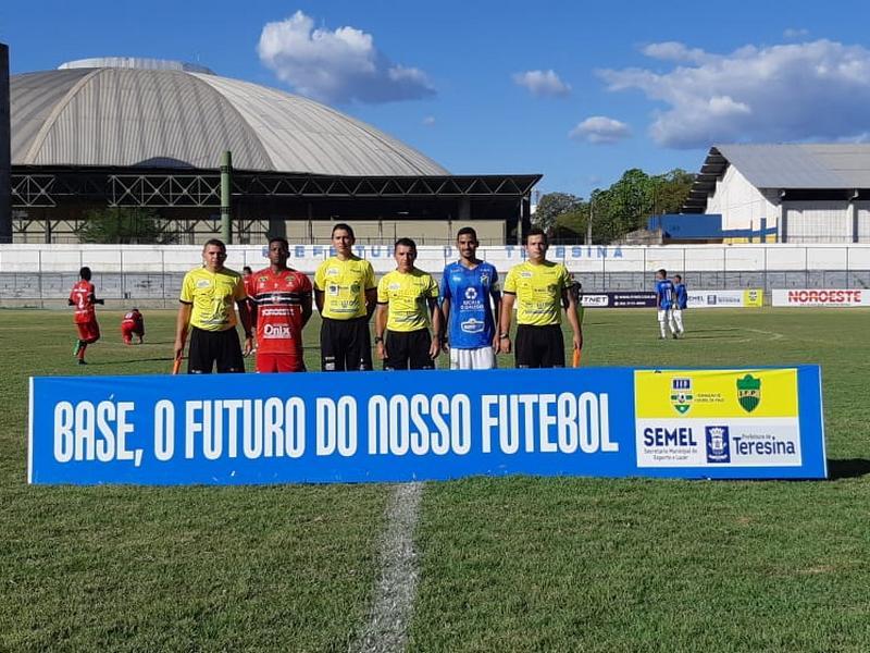 Piauiense Sub-17: empates marcam complemento da 1ª rodada