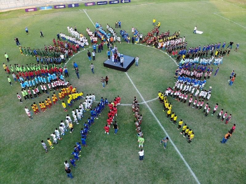 Piauiense Sub-11 começa com festa no Lindolfo Monteiro