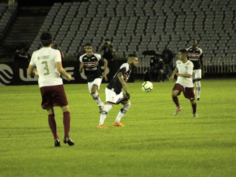 Fluminense-RJ vence o River e avança de fase na Copa do Brasil