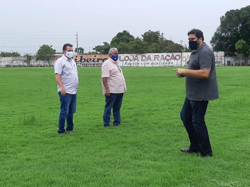 FFP realiza vistoria no Estádio Felipão, em Altos