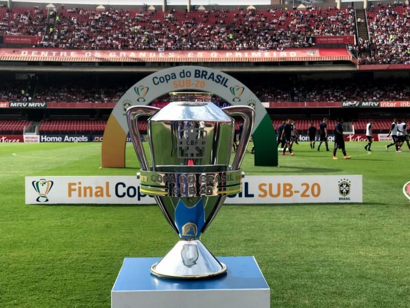Copa do Brasil Sub-20 2019 tem confrontos definidos para 1ª fase