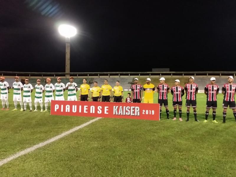 River e Altos empatam sem gols no estádio Albertão